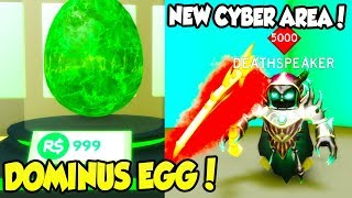 NEW CYBER AREA, INSANE BOSS, AND TONS OF NEW PETS IN SLAYING SIMULATOR UPDATE! (Roblox) thumbnail