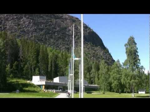 mountain climbing and free relaxation naturum höga kusten (video by ben&hanny)