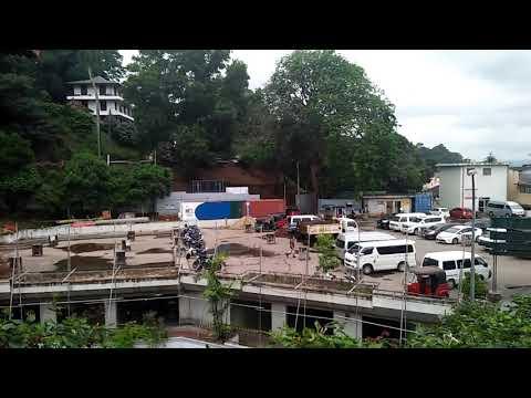 Kandy city centre.  Kandy Sri Lanka.