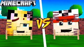 BAZA VITO VS BAZA BELLA - MINECRAFT | Vito vs Bella