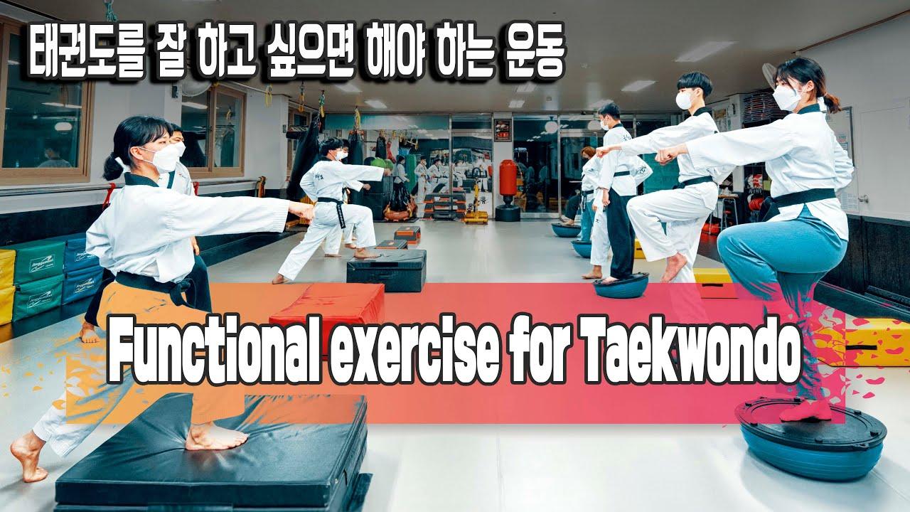 [TKD_FCT] 태권도를 잘 하고 싶으면  해야 하는 운동 / Functional Exercise for Taekwondo / 진주성인태권도