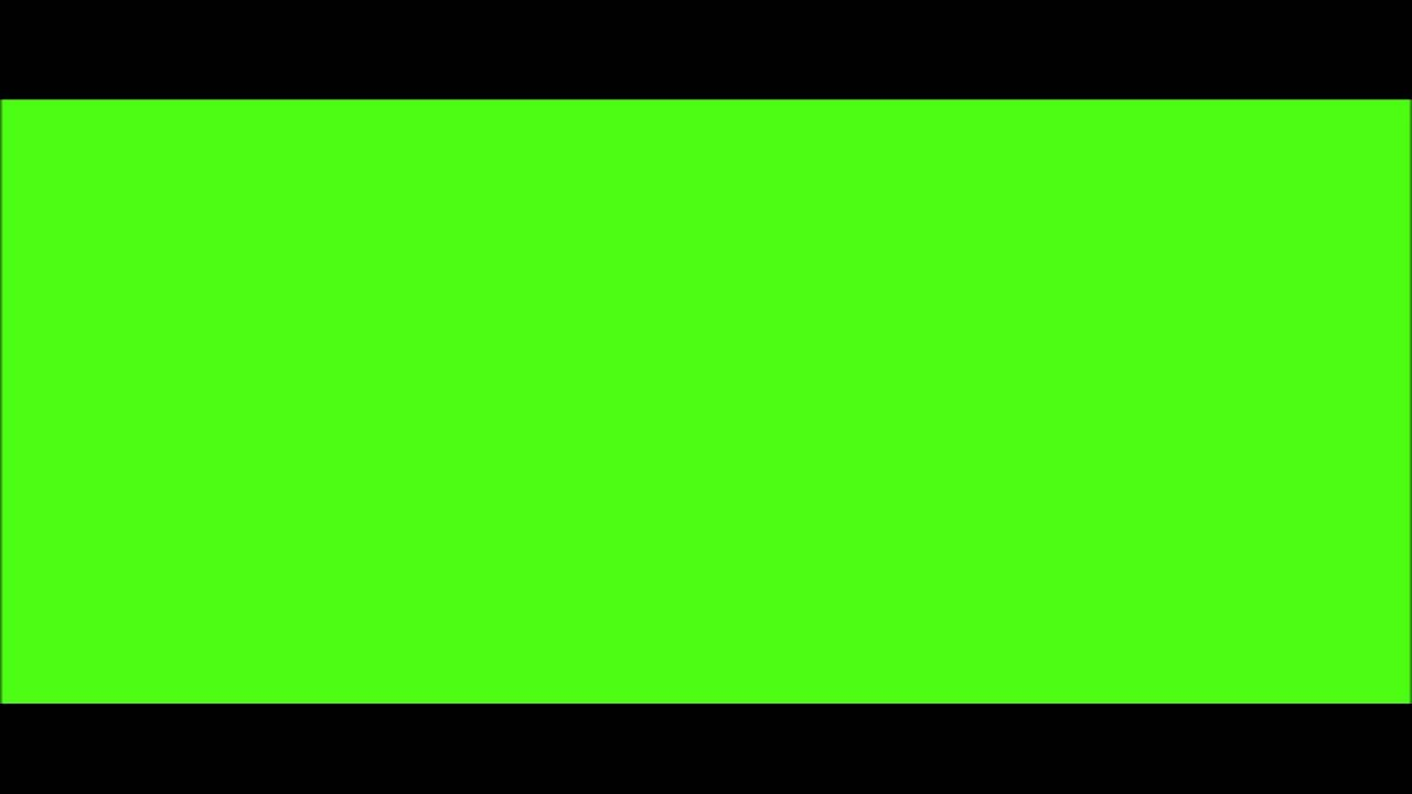 Black Border Green Screen