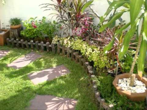 การแต่งสวนข้างบ้าน วิธีจัดสวนถาดแบบชื้น