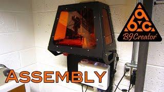 DIY B9 Creator DLP 3D Printer Rapid Prototype Assembly Time Lapse Build