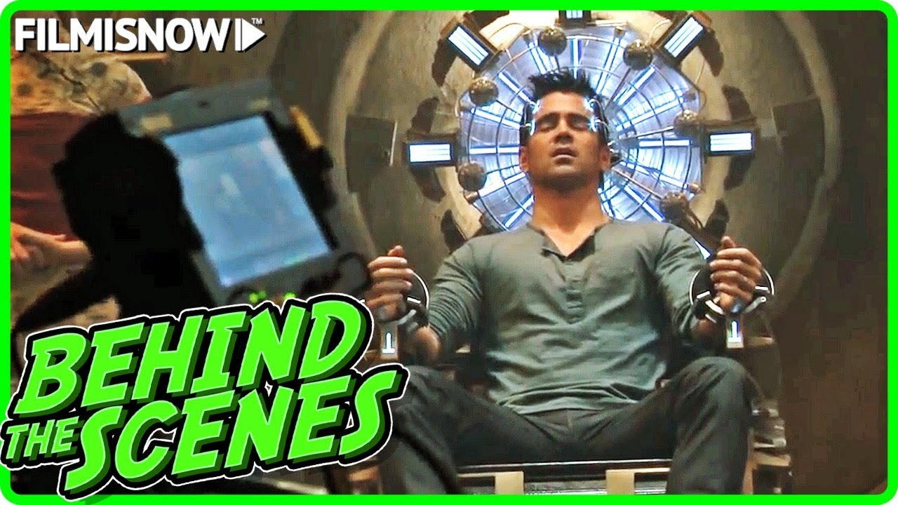 TOTAL RECALL (2012) | Behind the Scenes of Colin Farrell Sci-Fi Movie