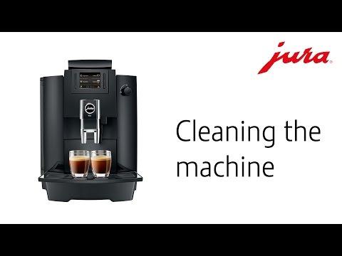 JURA WE6 - Cleaning the machine