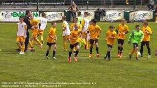 """D-Jugend: """"KIDS HELP KIDS CUP"""" des VfB Auerbach 2015 - die Spiele mit ein paar Ausschnitten"""