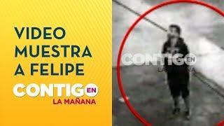 Video muestra a Felipe Rojas buscando cámaras de seguridad frente a bodega - Contigo en La Mañana