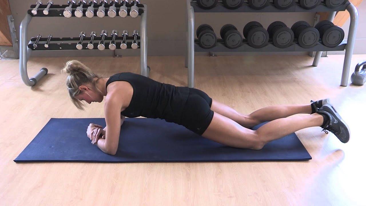 exercice de fitness abdominaux planche sur les genoux gainage d butant youtube. Black Bedroom Furniture Sets. Home Design Ideas