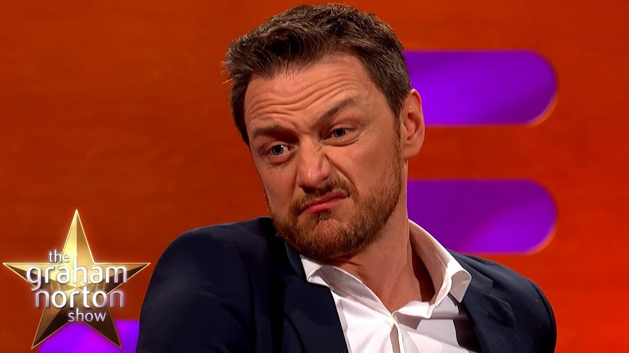 James McAvoy Used His Grandad's Razor To Shave His Balls ...