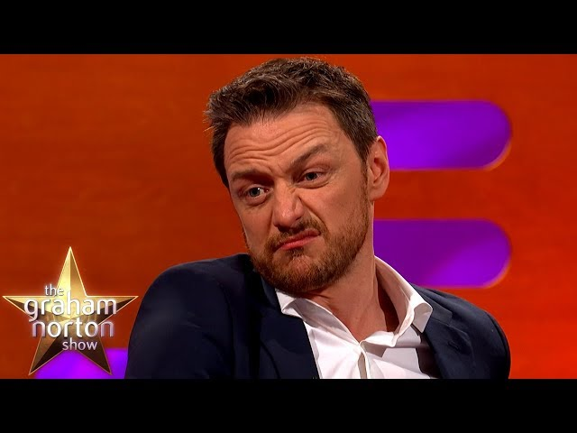 James McAvoy Used His Grandad's Razor To Shave His Balls! | The Graham Norton Show