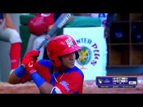 Dominican Rep v USA - U-15 Baseball World Cup 2018