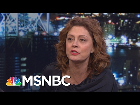 Susan Sarandon: Oil And Gas Is Not Tenable For Future Sustainability | All In | MSNBC