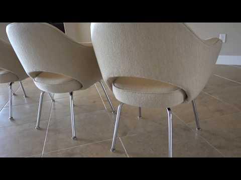 Knoll Eero Saarinen Executive Arm Chairs