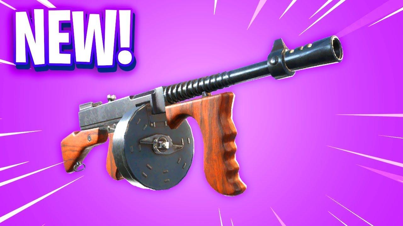 The New Fortnite Drum Gun