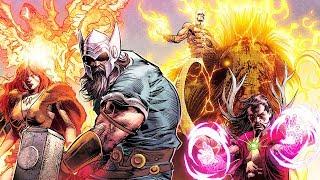 МСТИТЕЛИ 1 000 000 лет назад. ПЕРВЫЕ Мстители. Marvel Comics.