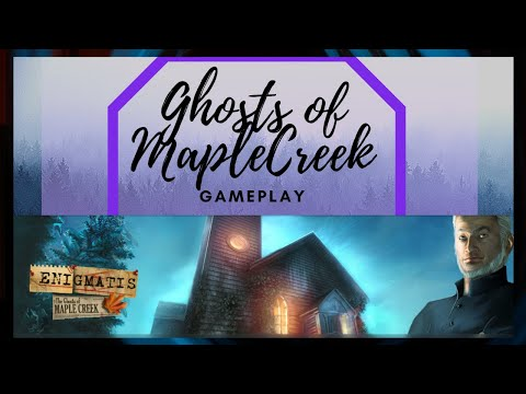 Enigmatis  The Ghosts Of Maple Creek Game Play! |