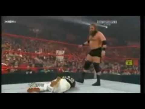john cena & rey mysterio & The Rock & Triple H vs. Nexus ...