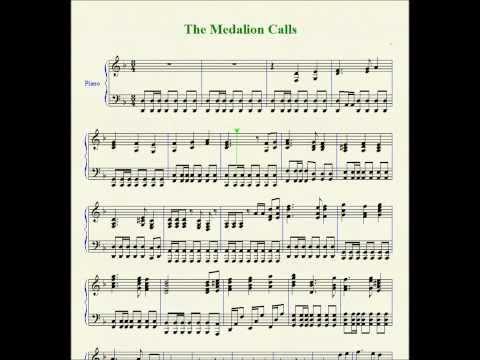 The Medallion Calls Piano sheet music HD