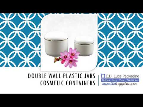 Double Wall Plastic Jars