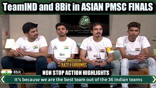 PMSC STAR CHALLENGE ASIA FINAL HINDI | 8bit and TeamInd GAMEPLAY