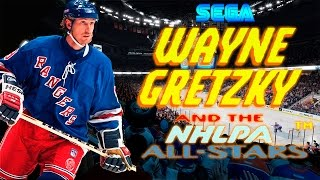 Wayne Gretzky and the NHLPA All-Stars gameplay (Sega Mega Drive/Genesis)