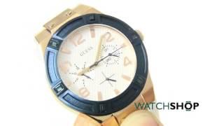 Guess Ladies' Jet Setter Watch (W0564L1)