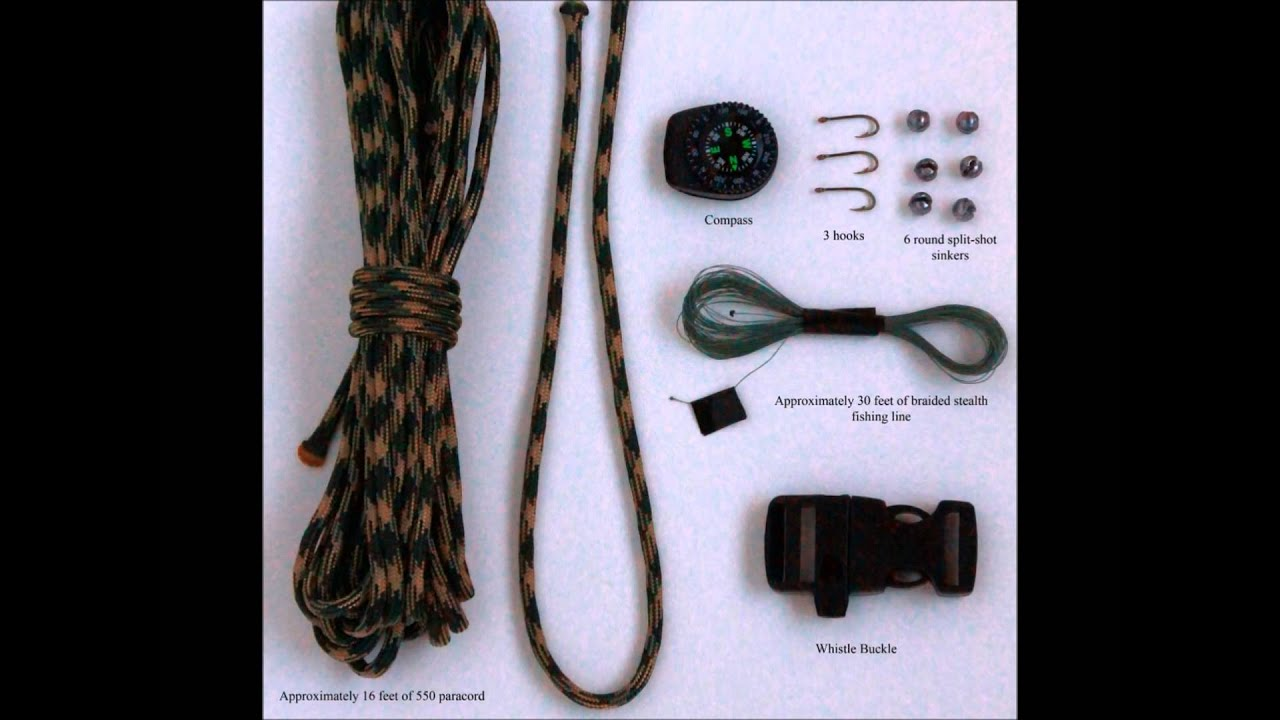 Paracord Bracelets With Built In Survival Kit 550 Cord An Bracelet