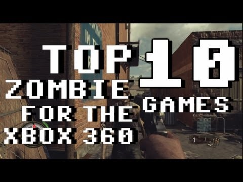 Top 10 Zombie Games For Xbox 360 2013