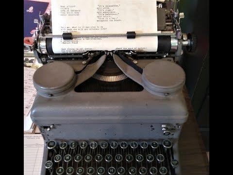 1930s Typewriter Fonts