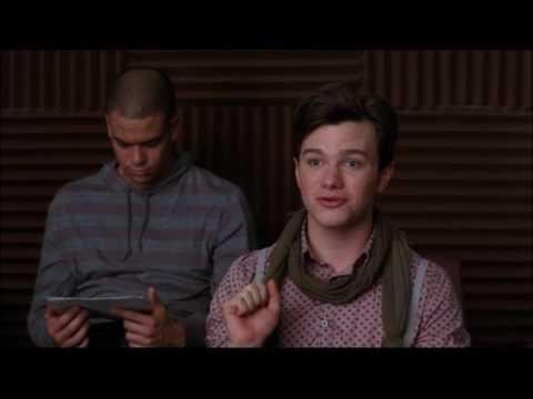 Glee - Kurt suggests performing Britney Spears music 2x02