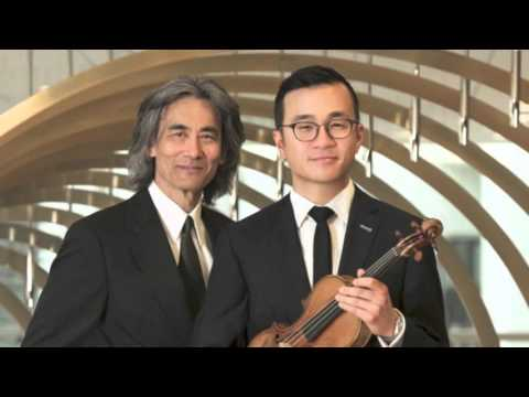 Andrew Wan, OSM, Kent Nagano / Saint-Saëns : Concerto pour violon n°1