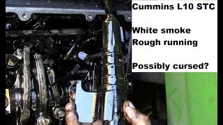 Truck Repairs: Cummins L10 STC Smoking and Rough Idle Part 1