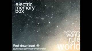 Electric Memory Box version of 'Everybody Wants To Rule The World' ...