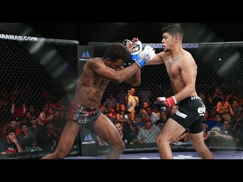 Levi Escobar vs Cedric Katambwa Full Fight (English)   MMA   Combate 13