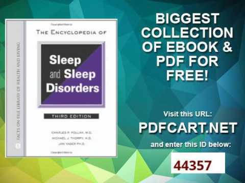 The Encyclopedia of Sleep and Sleep Disorders Facts on File Library of Health and Living Facts on Fi