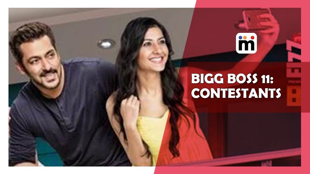 Bigg Boss 11 | Contestants name list | Mijaaj Entertainment
