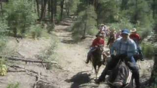 Horse Trail Riding Thumb Butte 3