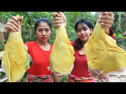 Yummy cooking leg goat recipe - Cooking skill