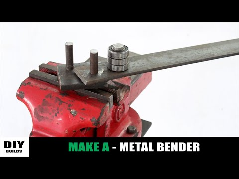 Make A Metal Bender | Homemade Metal Bender | Diy Tools | Diamleon Diy Builds