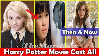 Harry potter all female cast then and now 2019 | movie vs