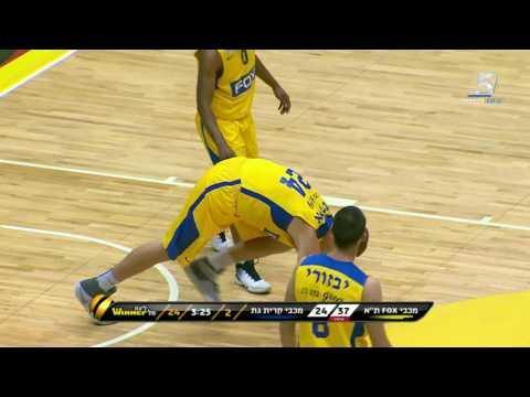Highlights: Maccabi Fox Tel Aviv - Kiryat Gat 91:67