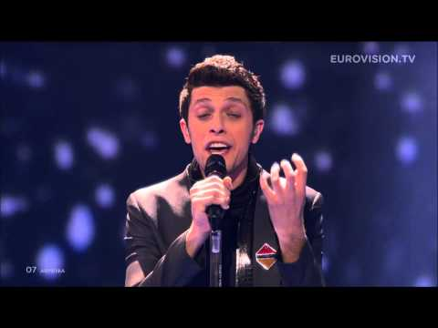 Aram MP3 - Not Alone (Armenia) LIVE Eurovision Song Contest 2014 Grand Final