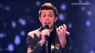 aram mp3   not alone armenia live eurovision song contest 2014 grand final