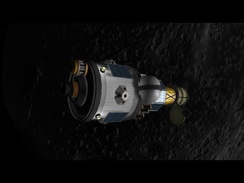 Reusable KSP 12 - Mun Resource Scanning Satellite Deployed