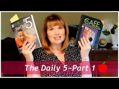 🍎 The Daily 5~Part 1 | Tina Bietler