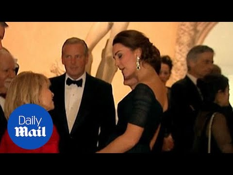 Will and Kate mingle at the St Andrews Manhattan fundraiser - Daily Mail