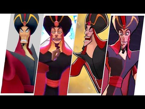 Jafar Evolution in Games(Aladdin) |