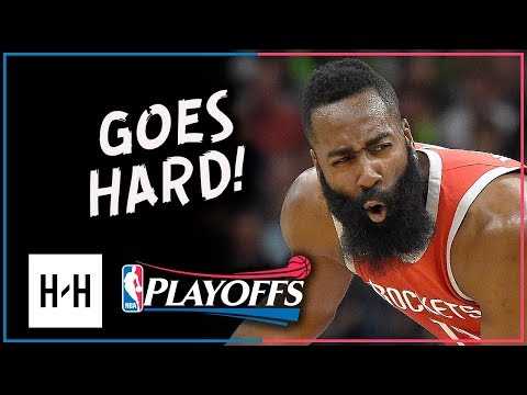 James Harden Full Game 4 Highlights Rockets vs Timberwolves 2018 Playoffs - 36 Pts, GOES HARD!