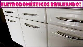 Misturinha ótima para limpar, desencardir e desamarelar eletrodomésticos